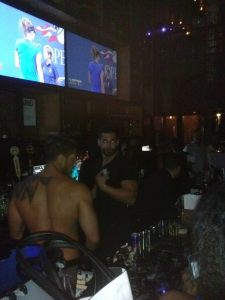 hotties behind bar
